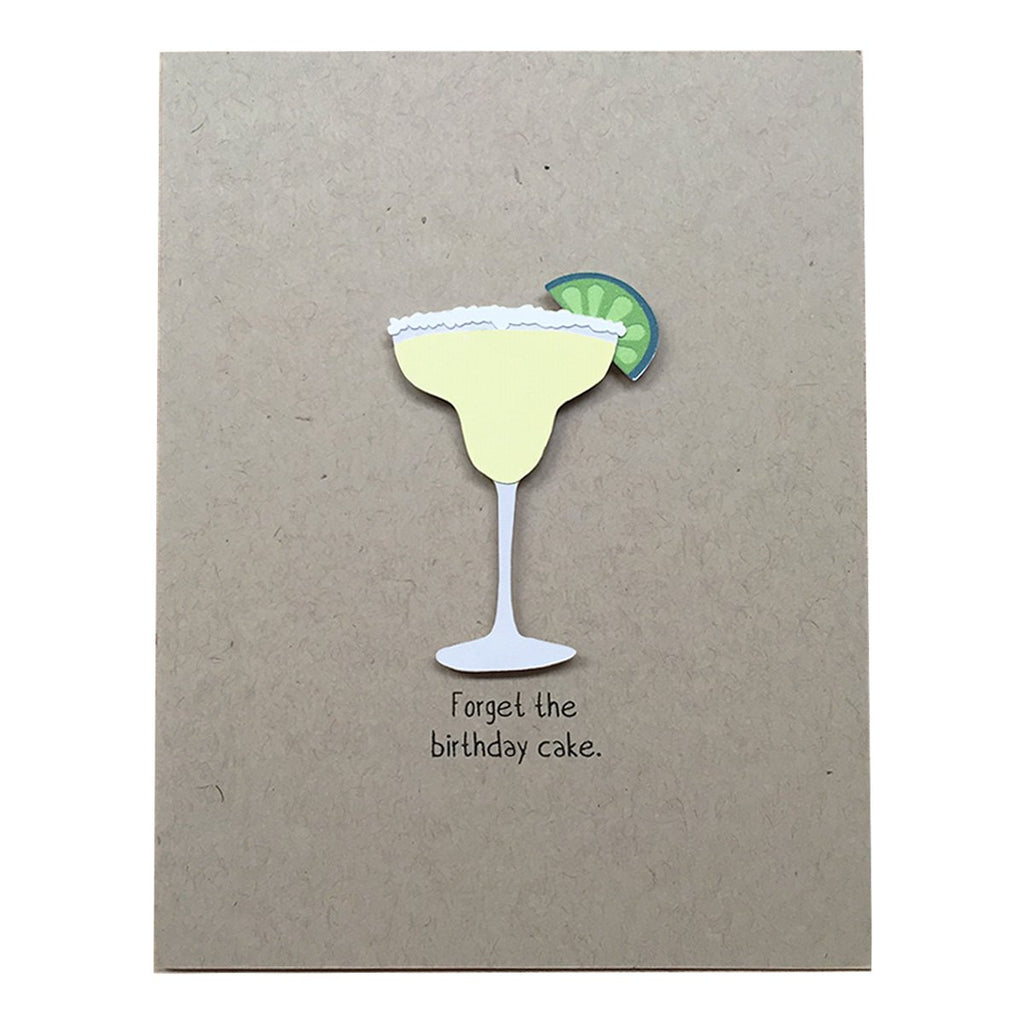 Forget the Birthday Cake Card