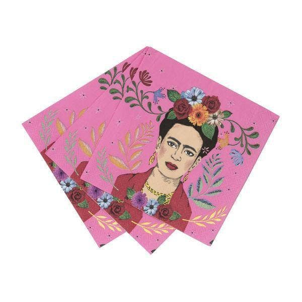 Frida Kahlo™ Cocktail Napkins - Set of 20