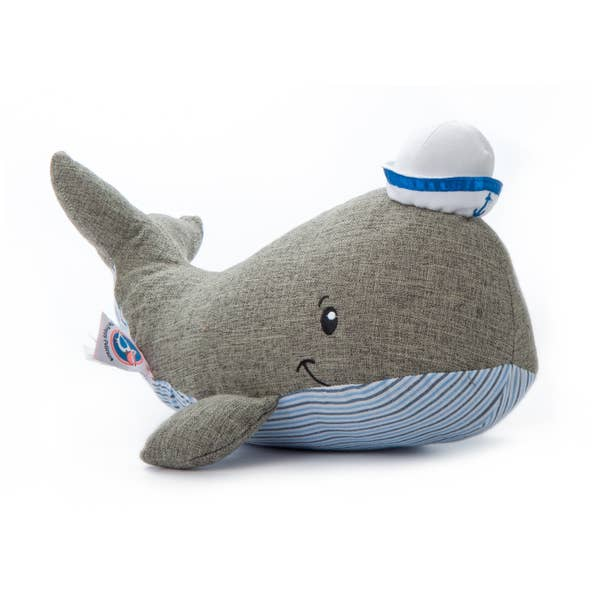 William The Whale - Plush Sea Life - 12-in