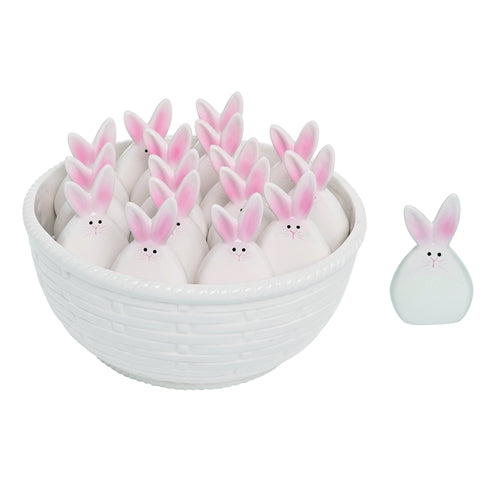 Bunny Salt and Pepper Shakers - Set of 2