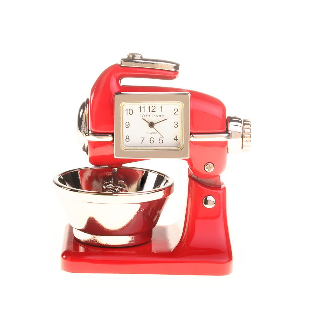 Kitchen Mixer Timepiece | Red