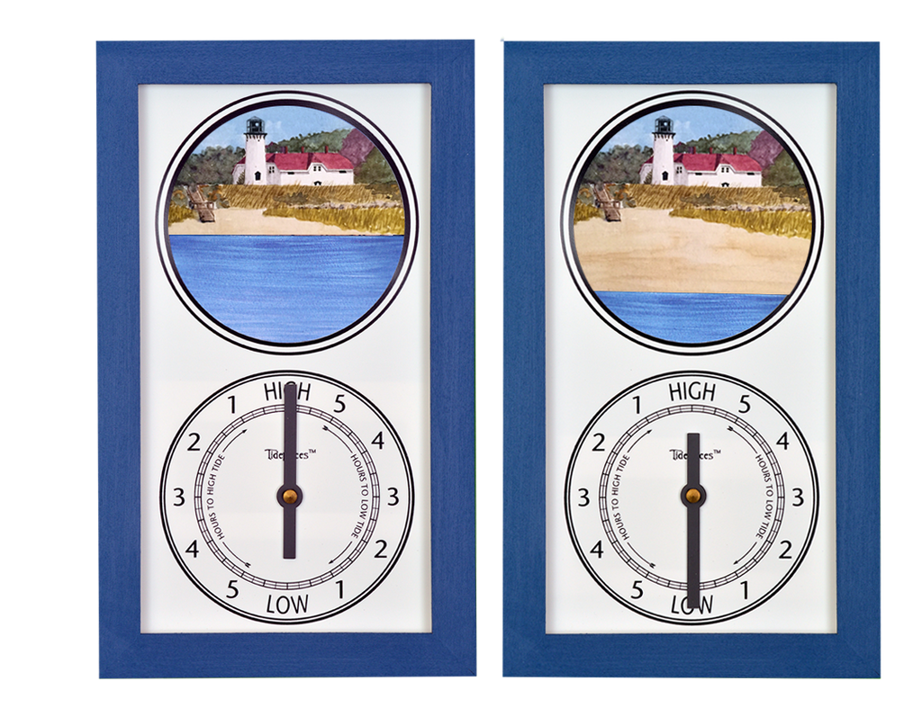 Tidepieces by Alan Winick - Chatham Light Cape Cod Massachusetts - Tide Clock