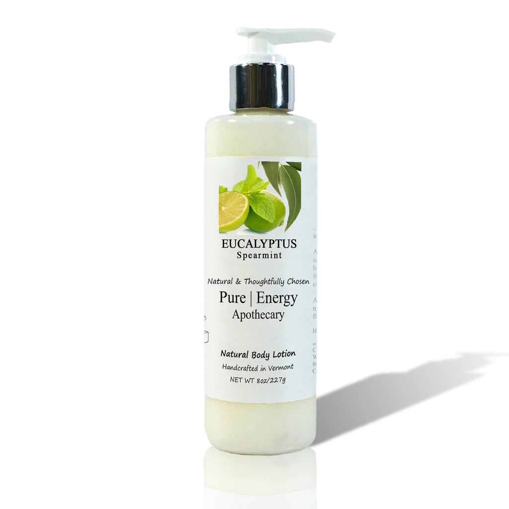 Pure Energy Apothecary Body Lotion - Eucalyptus Spearmint - 8-oz