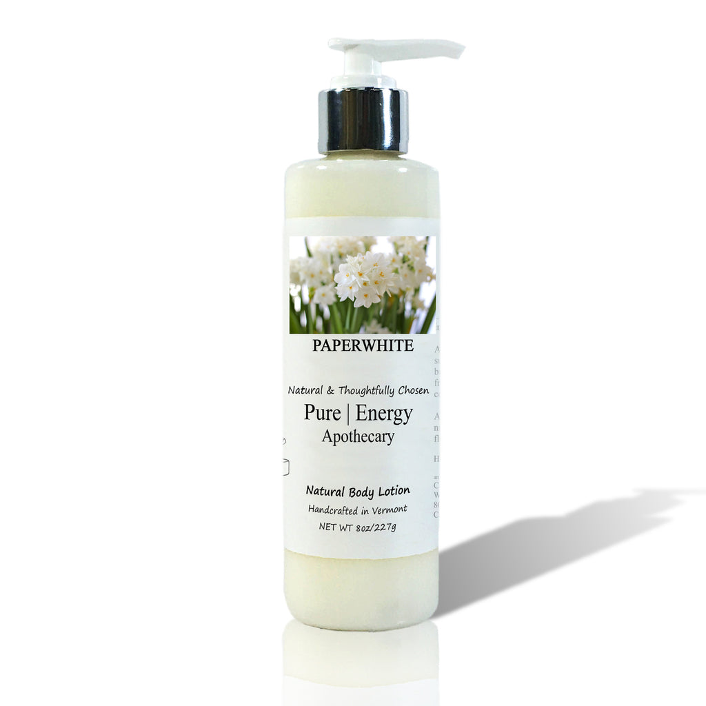 Pure Energy Apothecary Body Lotion - Paperwhite - 8-oz