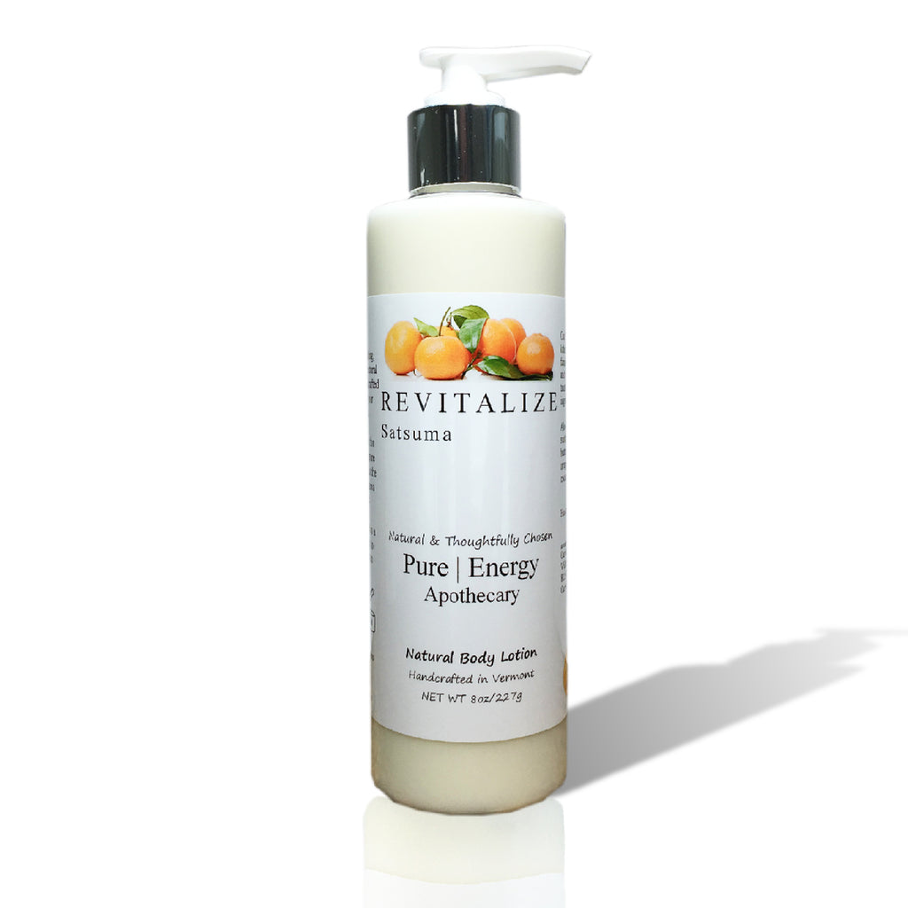 Pure Energy Apothecary Body Lotion - Revitalize Satsuma - 8-oz