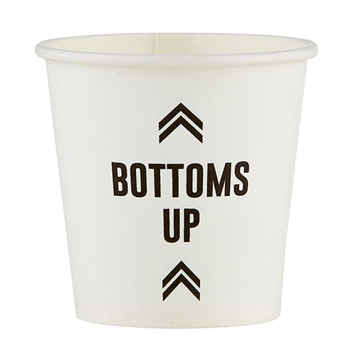 Bottoms Up Disposable Shot Glasses