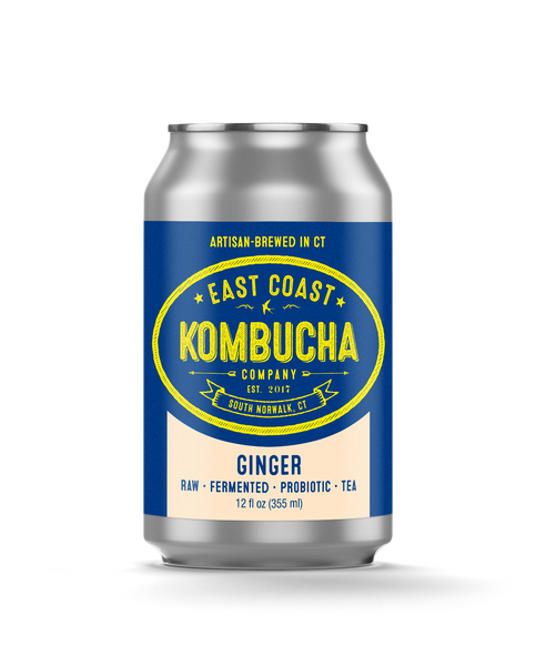 East Coast Kombucha - Ginger