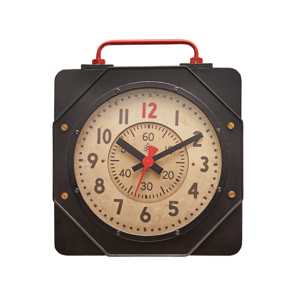 Engine Room Wall Clock - 21-in