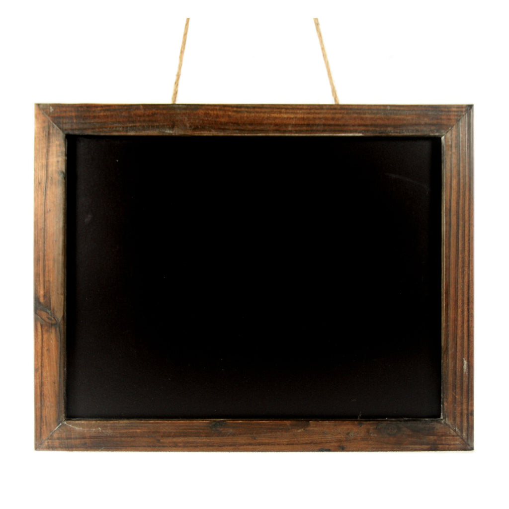 Antique Brown Wood Frame Chalkboard   19 In FP 3229 Cheungs Rattan U2013 Mellow  Monkey