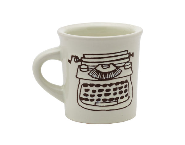 Ore' Originals Happy Products - Cuppa This Cuppa That® Mug - Typewriter - Mellow Monkey  - 1