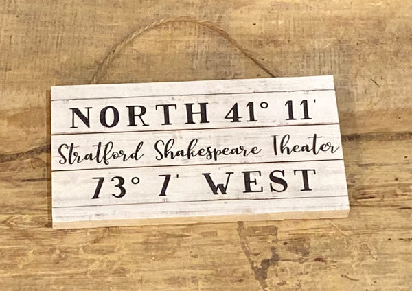 Stratford Shakespeare Theater Coordinates - Mini Hanger 6-1/2-in