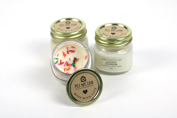 Hand Poured Soy Candles with Essential Oils | 8-oz