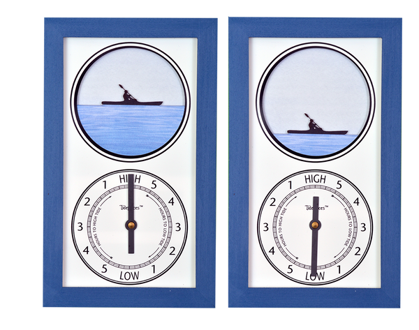 Tidepieces by Alan Winick - Kayaker Tide Clock