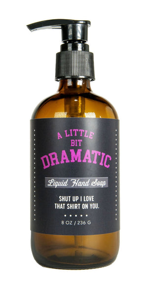 Whiskey River Soap - A Little Bit Dramatic Liquid Hand Soap - 8-oz.