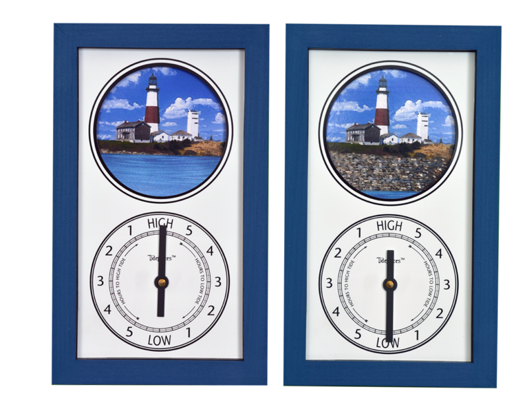 Tidepieces by Alan Winick - Montauk Point Light - Tide Clock