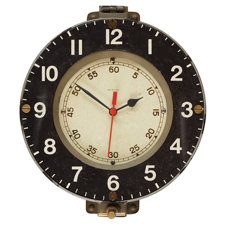 Marine Wall Clock Grey | 13-in