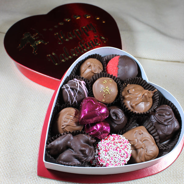 Candy Manor Valentines Assorted Chocolate Heart
