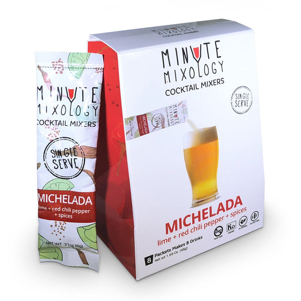Minute Mixology Cocktail Mixer Packets - Michelada