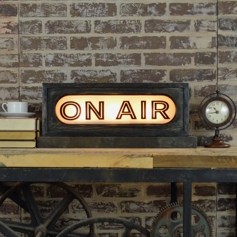 ON AIR Lighted Box Sign 22-in