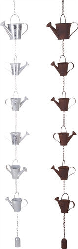 Metal Watering Can Rain Chain - 55-1/2-in