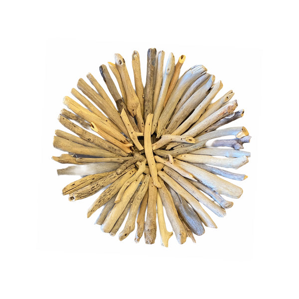 Coastal Decorative Driftwood Bowl - Natural - 11-in