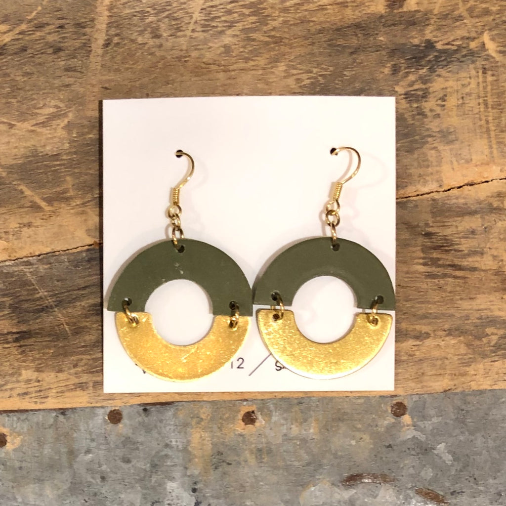 Adorn 512 - Cyndi Earrings - Spring Green