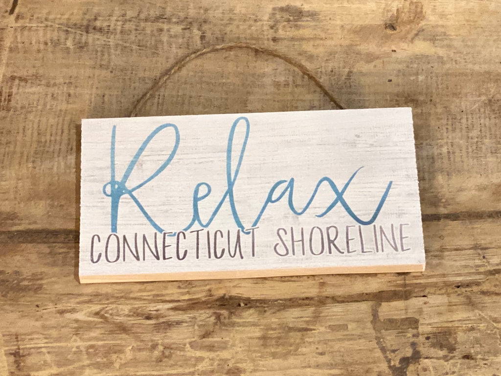 Relax - Connecticut Shoreline  - Mini Hanger 6-1/2-in