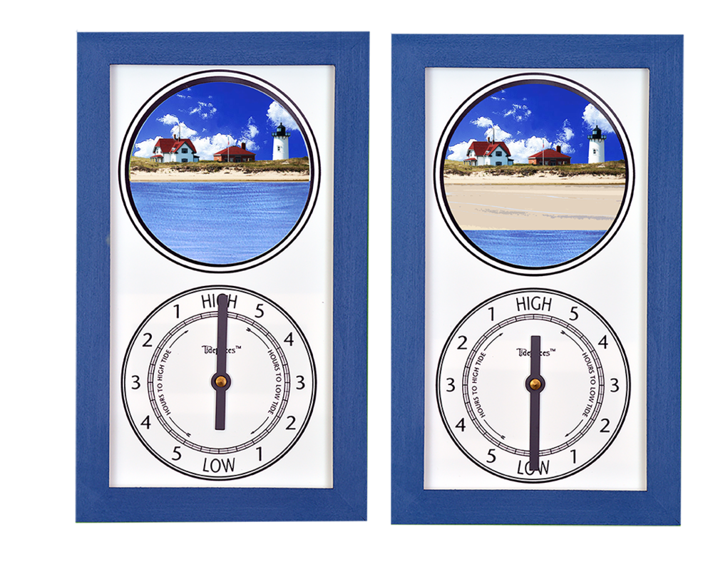 Tidepieces by Alan Winick - Race Point Provincetown Cape Cod Massachusetts - Tide Clock