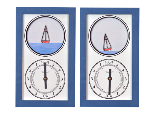 Tidepieces by Alan Winick - Sailboat Tide Clock