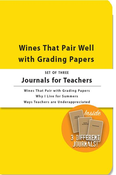 Journals for Teachers - Set of 3