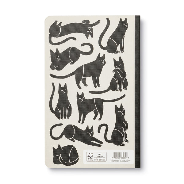 There Are No Ordinary Cats (Colette) - Write Now Blank Journal