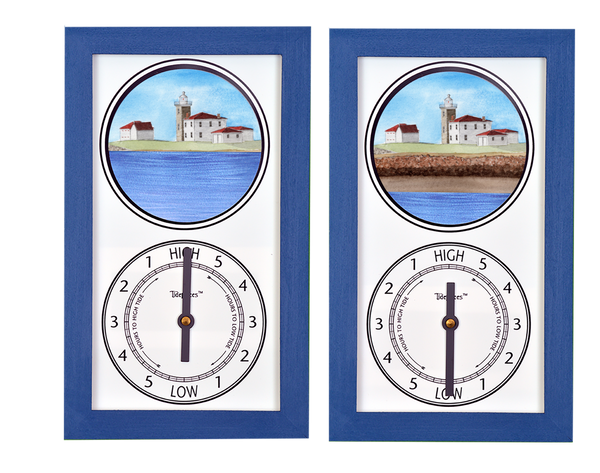 Tidepieces by Alan Winick - Watch Hill Light Rhode Island Tide Clock