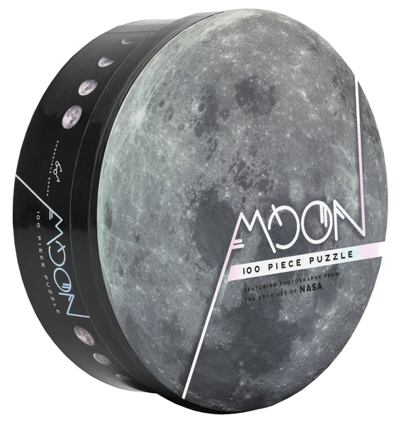 Moon - 100 Piece Jigsaw Puzzle - Featuring Photography from the Archives of NASA