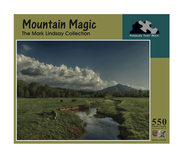 Mountain Magic Jigsaw Puzzle 550 Piece