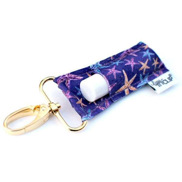 Golden Starfish LippyClip Lip Balm Holder