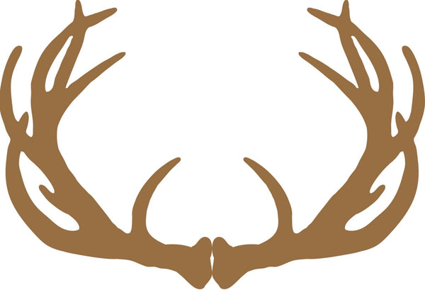 Lodge Style Antler Disposable Paper Placemats - Pad of 50 - Mellow Monkey  - 2