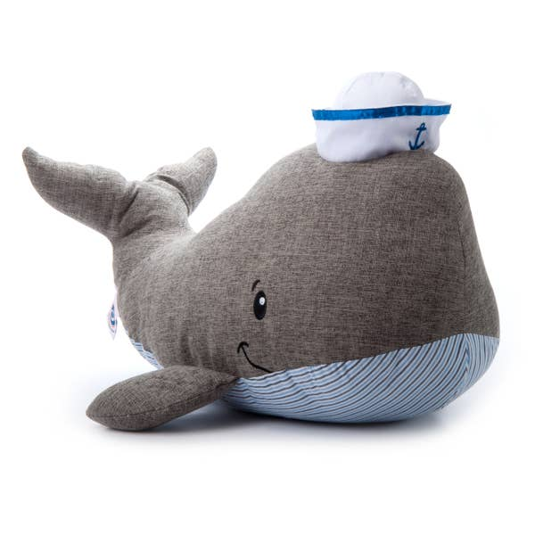 JUMBO William The Whale - Plush Sea Life - 22-in