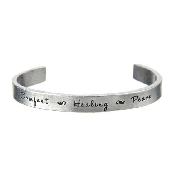 Today I Choose Joy Quotable Cuff Bracelet
