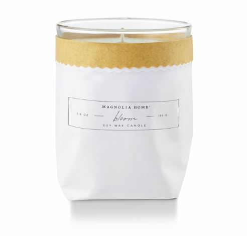 Magnolia Home by Joanna Gaines - Bloom - Kraft Textured Bagged Candle
