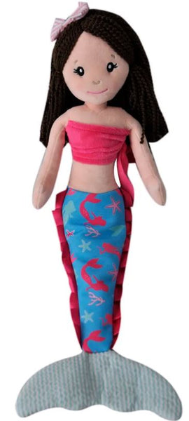Plush Mermaid Wishes Doll - 18-in