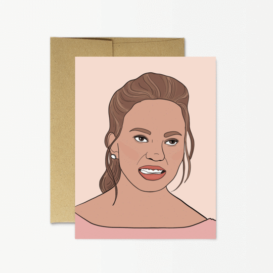 Party Mountain Paper co. - Chrissy Teigen Card