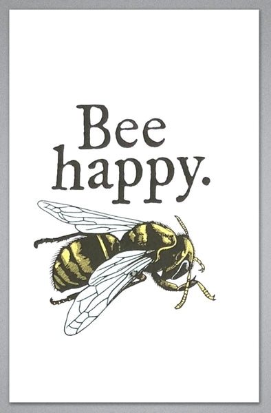 Bee Happy - Greeting Card