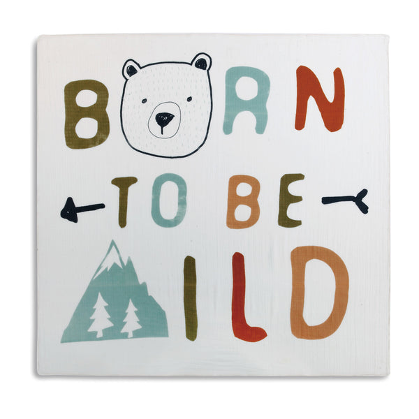 Born to be WIld Photo Swaddle - 47-in