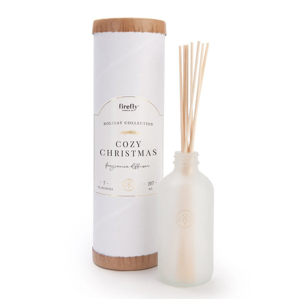 Firefly Holiday Reed Diffuser - Cozy Christmas - 7-oz