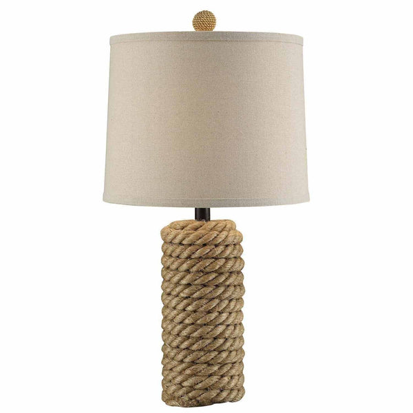 Rope Bolt Table Lamp - 25-in