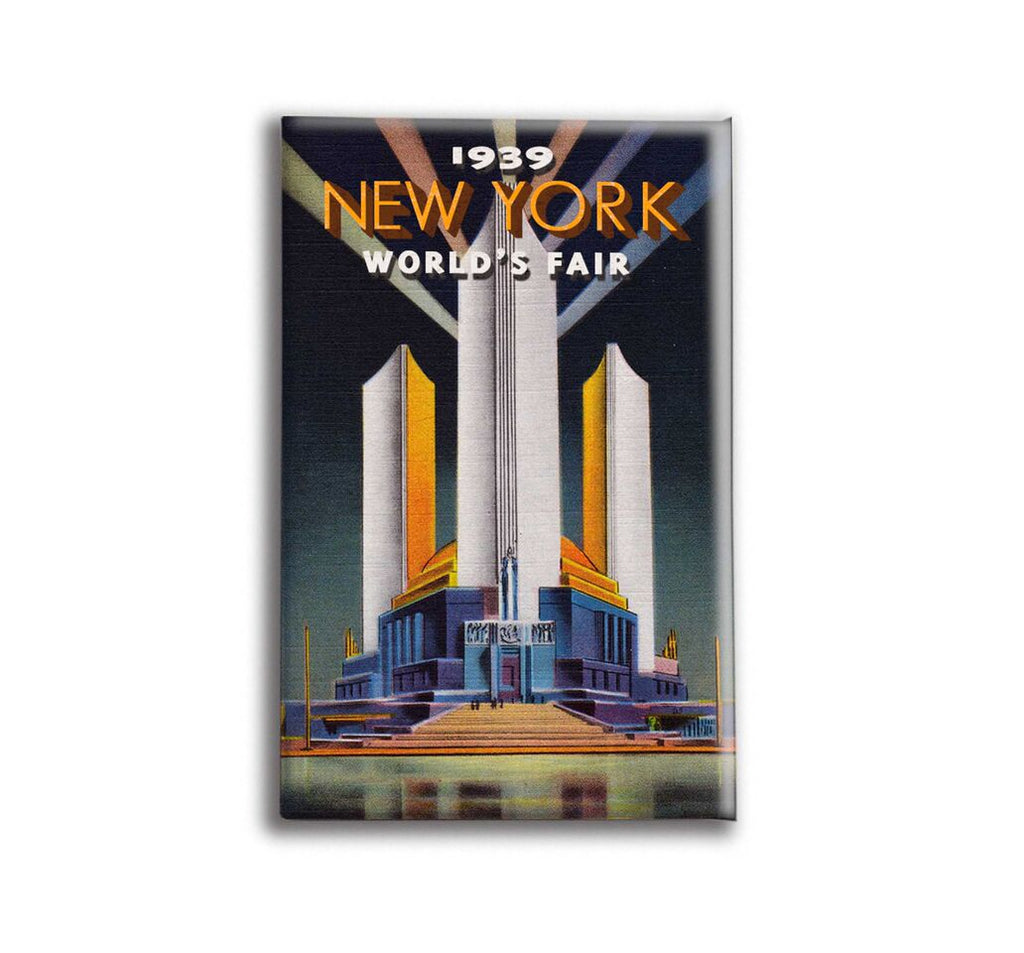 Oso + Bean - New York Worlds Fair 2 Magnet