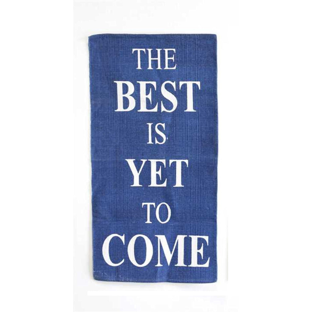 The Best Is Yet To Come Area Rug - 56-in x 27-in - Mellow Monkey  - 2
