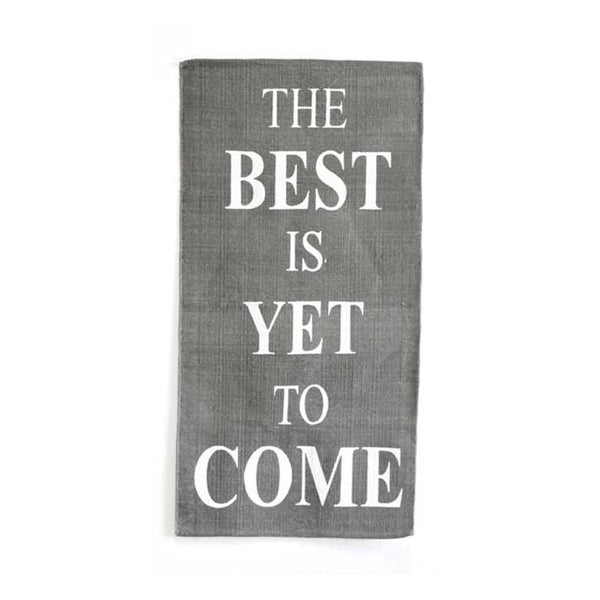 The Best Is Yet To Come Area Rug - 56-in x 27-in - Mellow Monkey  - 1