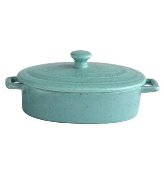 Stoneware Mini Baker with Lids 6-in