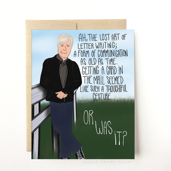 Keith Morrison Dateline Parody - Everyday Card